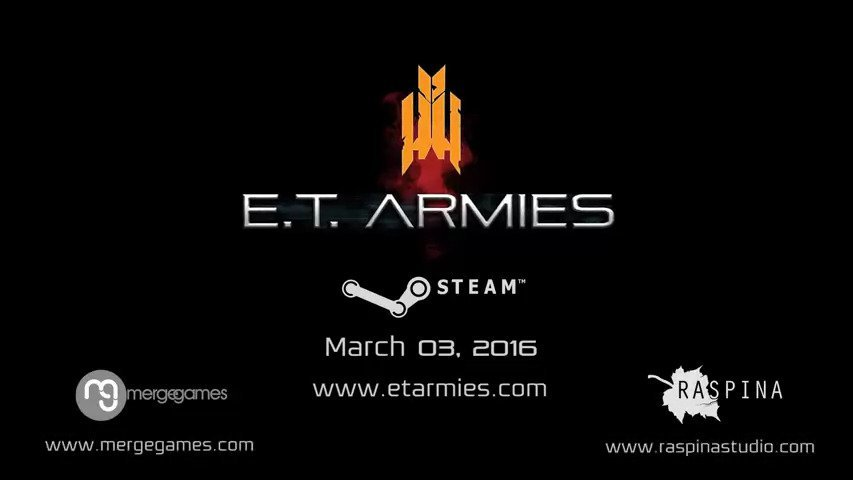 E.T. Armies On Steam Today #GTUSA 1