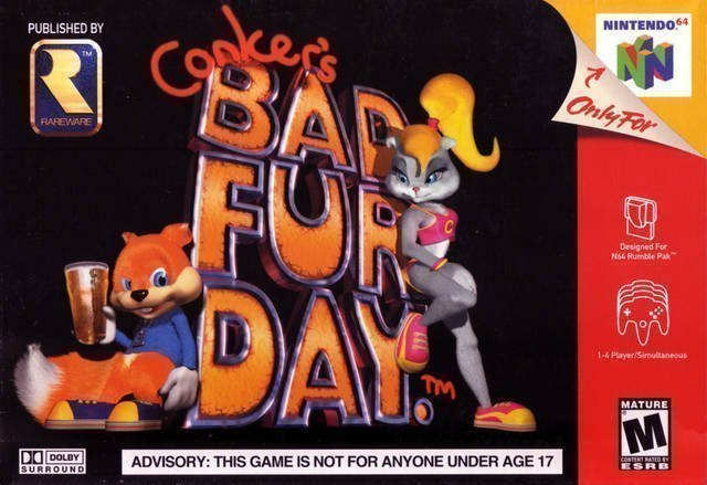 Conker's Bad Fur Day #GTUSA 1