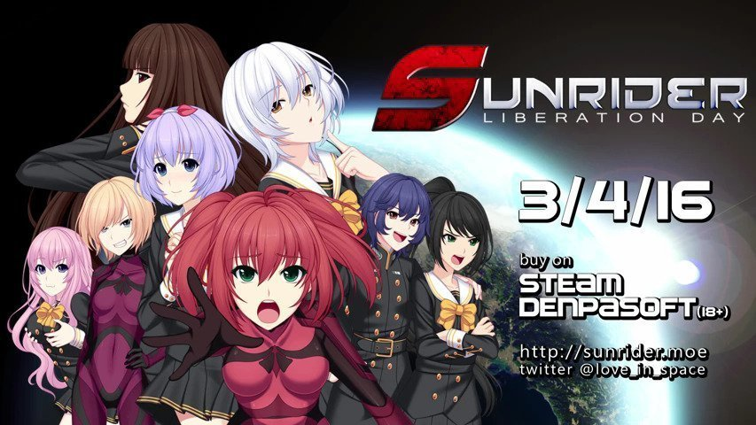 Sunrider: Liberation Day - Out Now #GTUSA 1