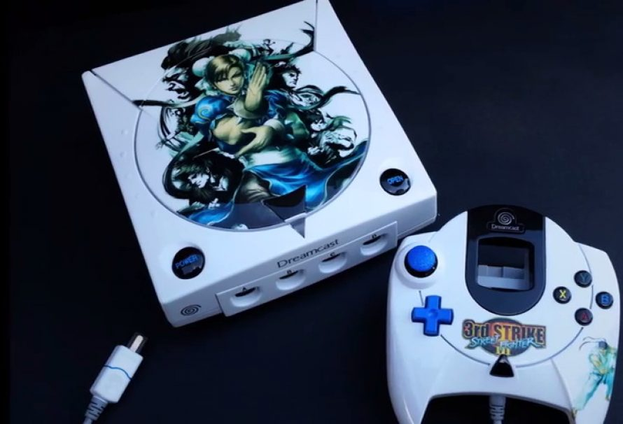 Custom Sega Dreamcast Street Fighter 3rd Strike MAL Consoles 2016