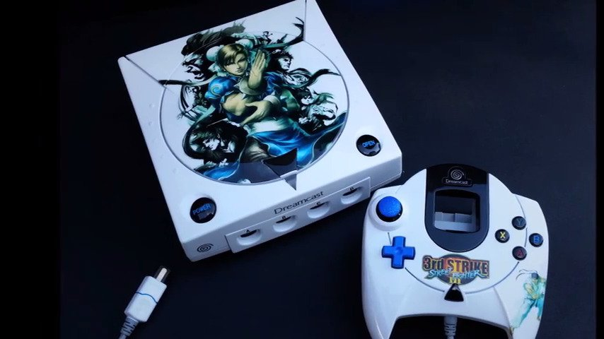 Custom Sega Dreamcast Street Fighter 3rd Strike MAL Consoles 2016 #GTUSA 1