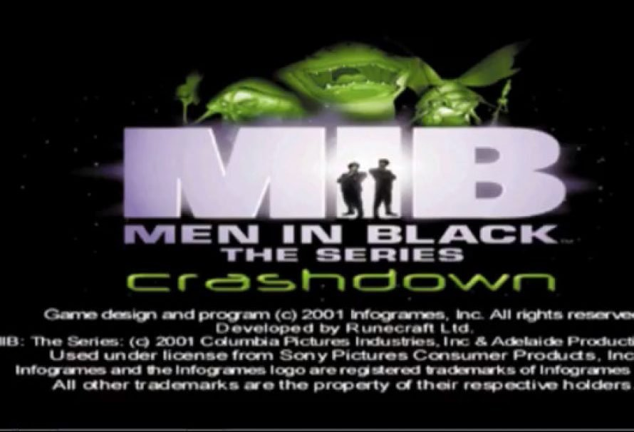Men In Black The Series Crashdown PS1 Retro Review