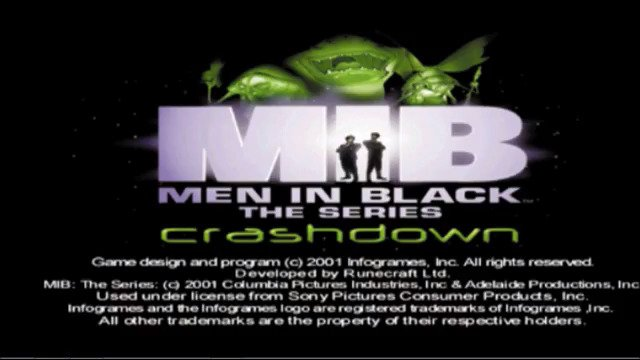 Men In Black The Series Crashdown PS1 Retro Review - #GTUSA 1