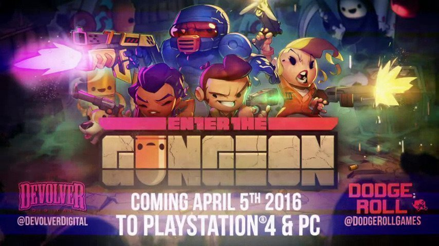 Enter the Gungeon Today on Steam - #GTUSA 1