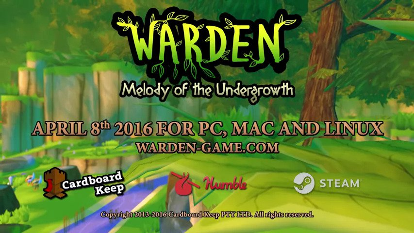Warden: Melody of the Undergrowth - #GTUSA 1