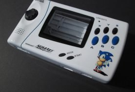 20th Anniversary Sonic Sega Nomad By M.A.L. Custom Consoles