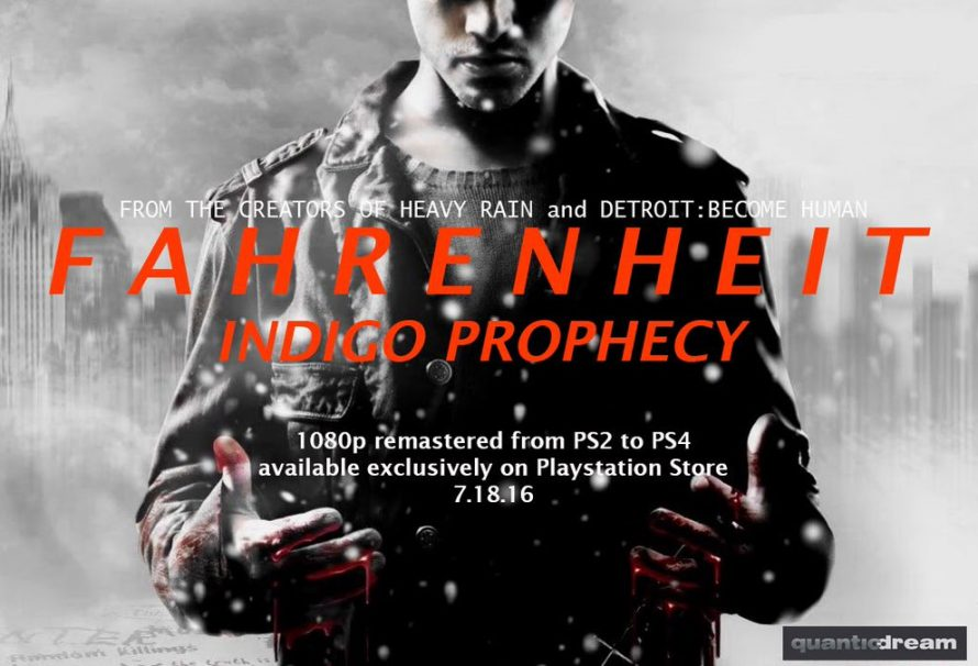Indigo Prophecy remaster coming to PS4 on July 18