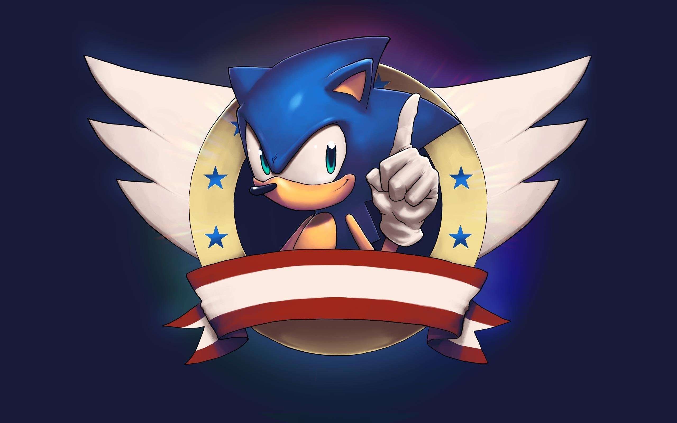 Sonic-The-Hedgehog-Cool-Logo-HD-Wallpaper