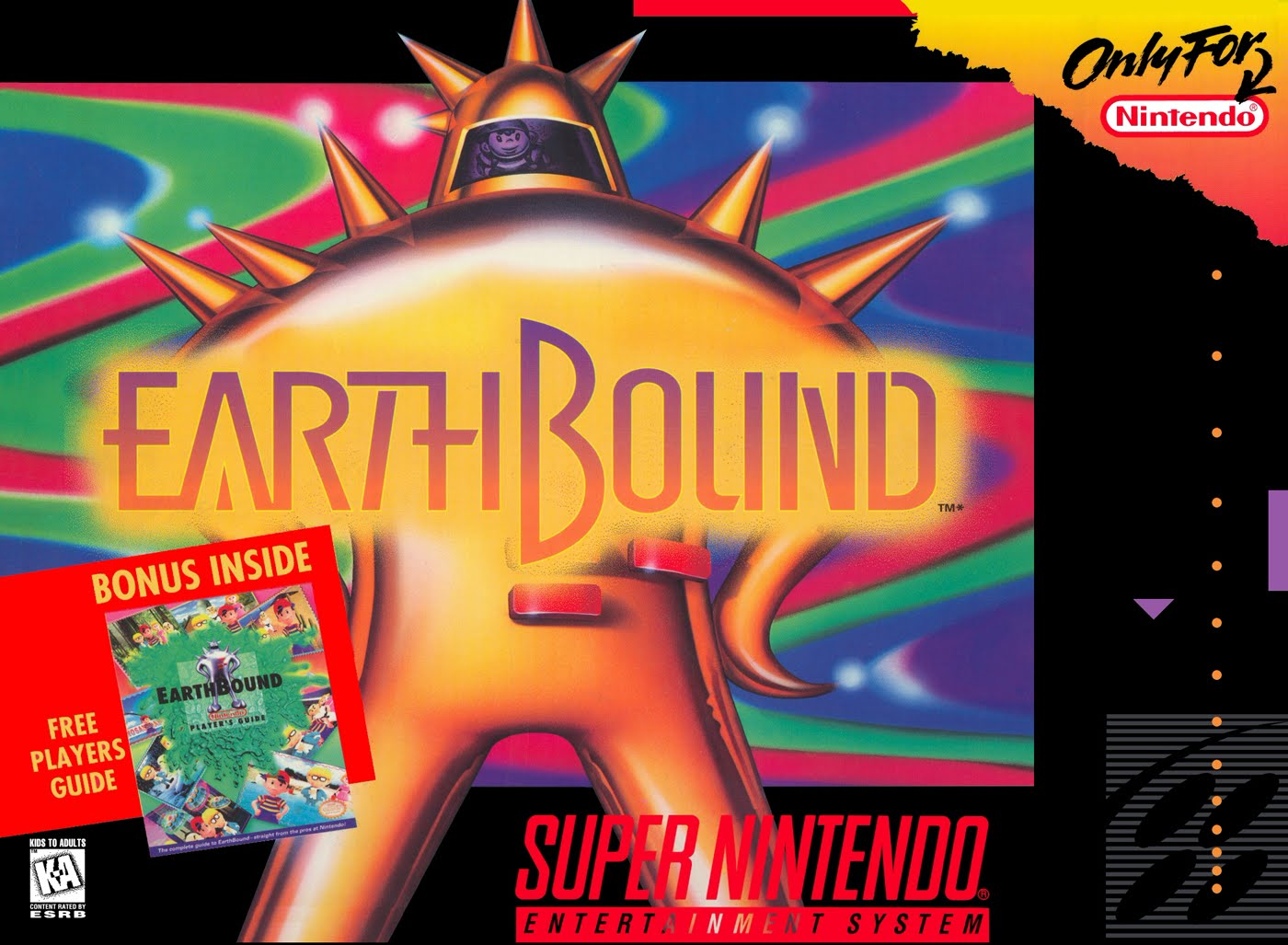 Happy 21st Anniversary Earthbound (SNES) - #GTUSA 1