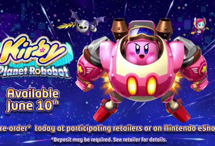 Kirby Planet Robot Releasing Today On 3DS