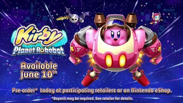 Kirby Planet Robot Releasing Today On 3DS - #GTUSA 1