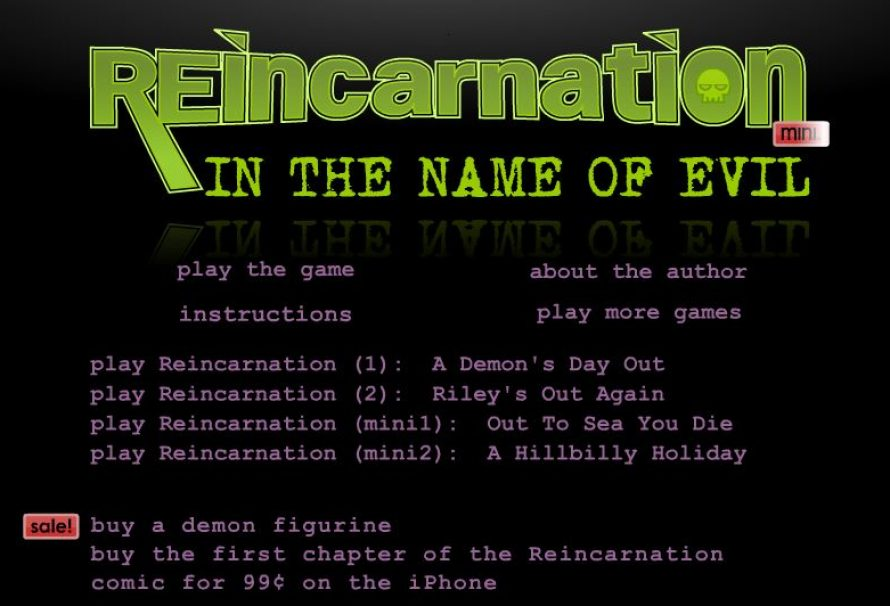 Reincarnation: In The Name Of Evil