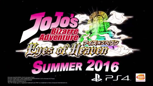 JOJO'S BIZARRE ADVENTURE: EYES OF HEAVEN - #GTUSA 1