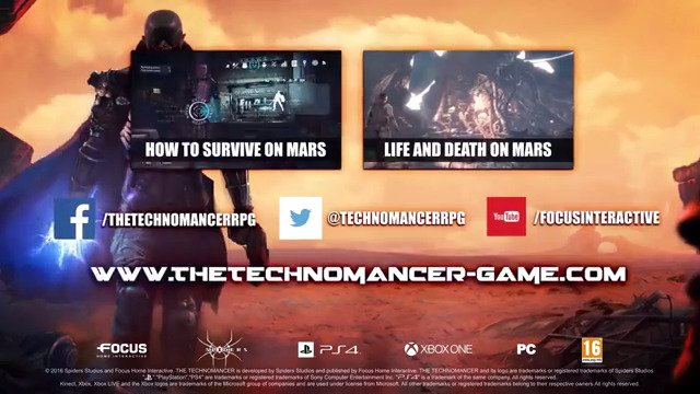 The Technomancer Launches Today On PS4, XB1, & PC - #GTUSA 1