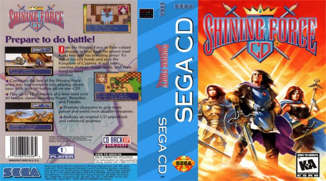 Shining Force CD - #GTUSA 1