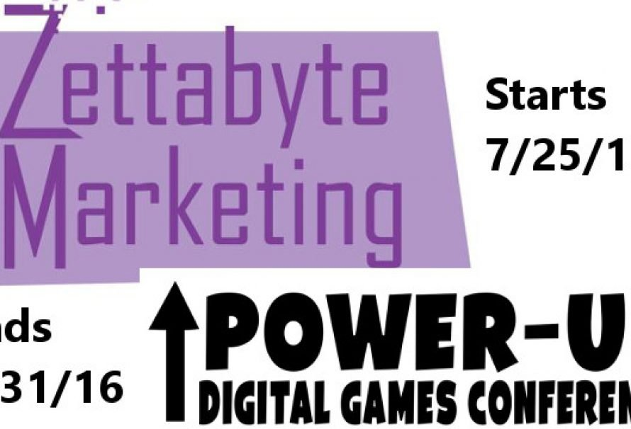 The Power-Up Digital Game Conference Kicks Off On 7/25/16
