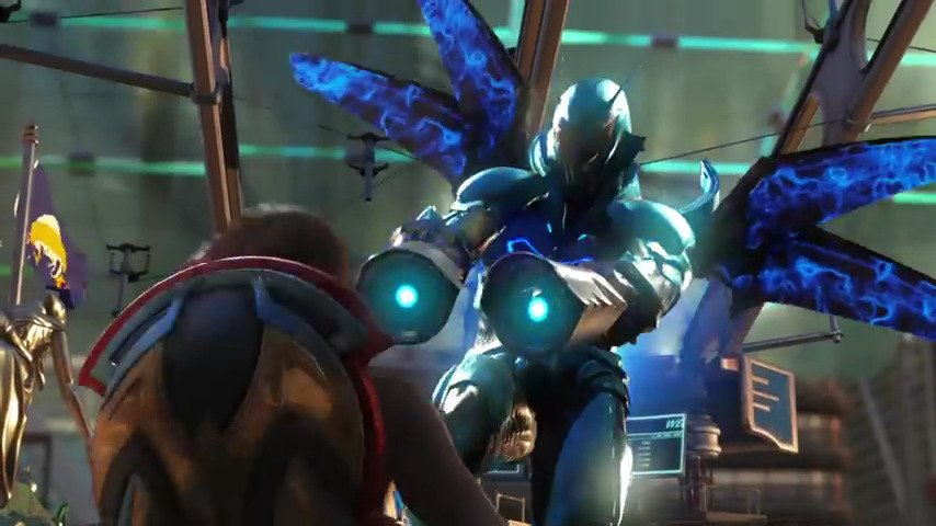Injustice 2 Blue Beetle - #GTUSA 3