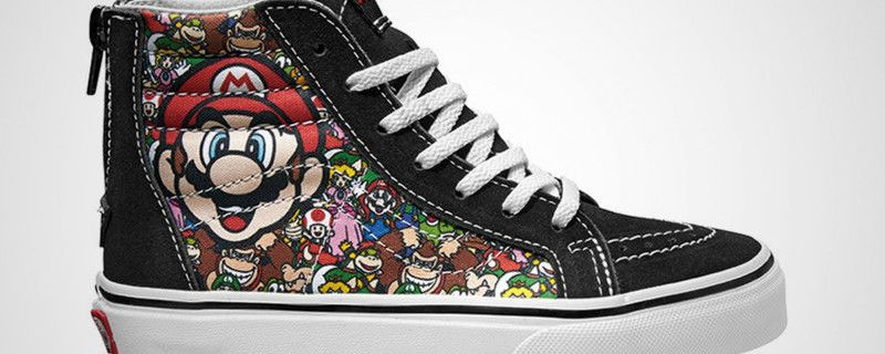 Amazing Gallery Of Video Game Shoes