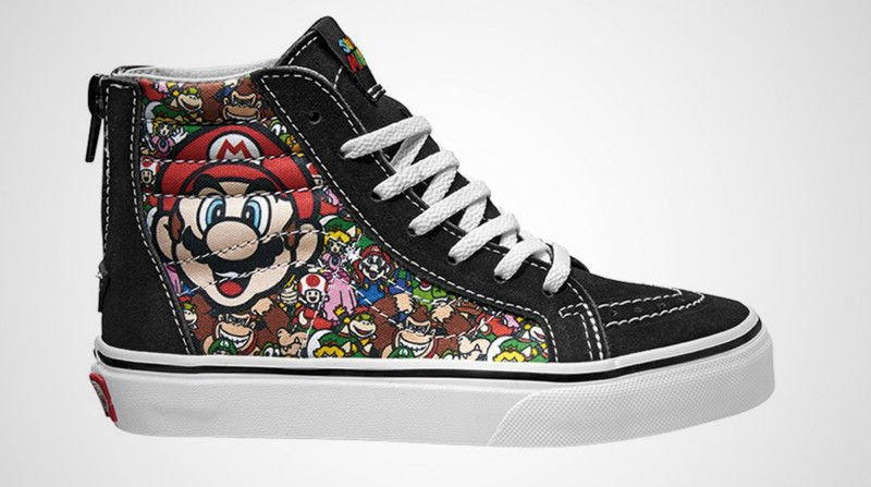 Custom Video Game Sneakers & Shoes - #GTUSA 1