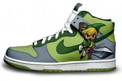 Custom Video Game Sneakers & Shoes - #GTUSA 2