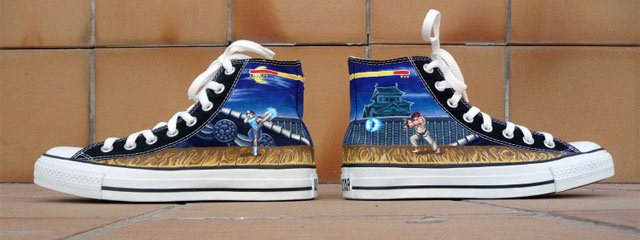 Custom Video Game Sneakers & Shoes - #GTUSA 3