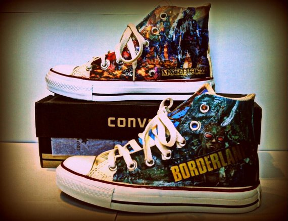 Custom Video Game Sneakers & Shoes - #GTUSA 5