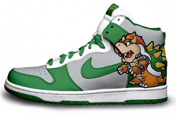 Custom Video Game Sneakers & Shoes - #GTUSA 6