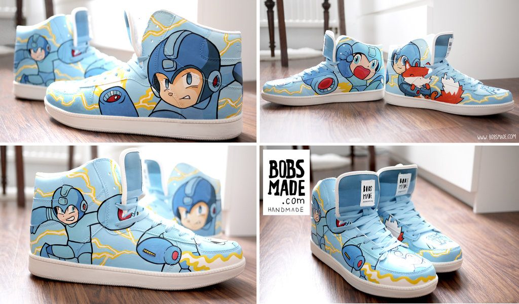 Custom Video Game Sneakers & Shoes - #GTUSA 9