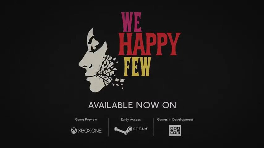 We Happy Few - #GTUSA 1