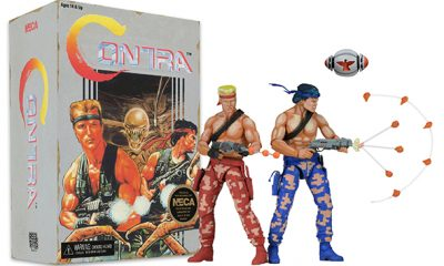 "Contra 7"" Scale Action Figures By NECA - #GTUSA 1"
