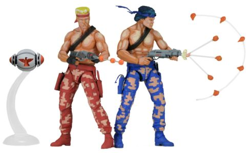 "Contra 7"" Scale Action Figures By NECA - #GTUSA 2"