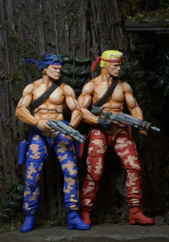 "Contra 7"" Scale Action Figures By NECA - #GTUSA 3"
