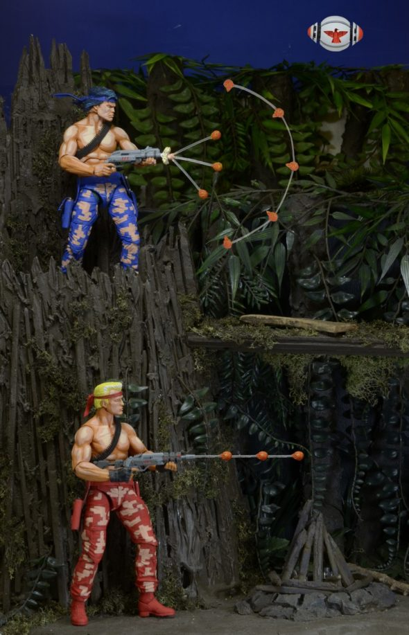 "Contra 7"" Scale Action Figures By NECA - #GTUSA 4"