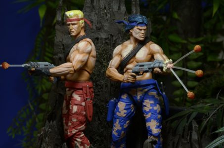 "Contra 7"" Scale Action Figures By NECA - #GTUSA 6"