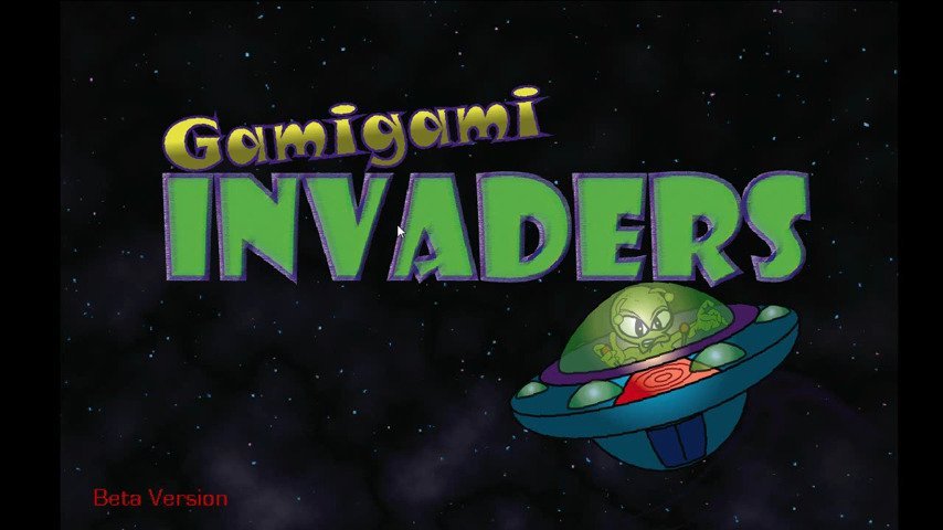 GamiGami Invaders - #GTUSA 1
