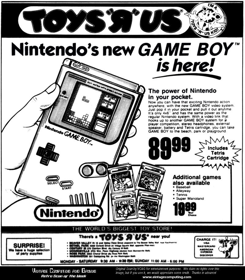 Game Boy 27th Anniversary - #GTUSA 3