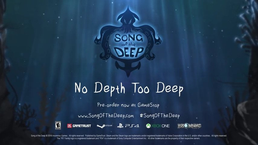 Song of the Deep - #GTUSA 1