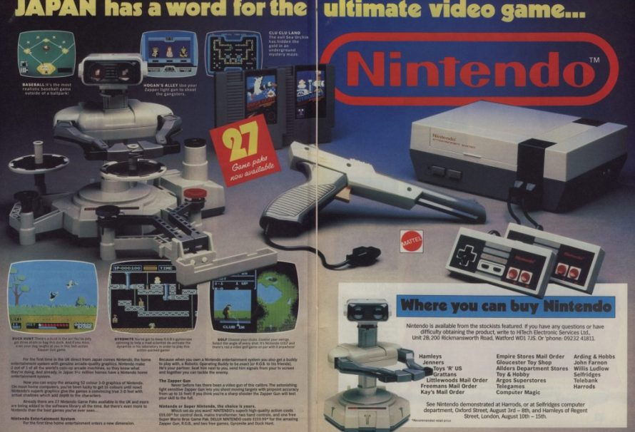 The Nintendo Entertainment System Launched 33 Years Ago Today In Japan