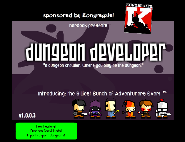 Dungeon Developer - #GTUSA 1
