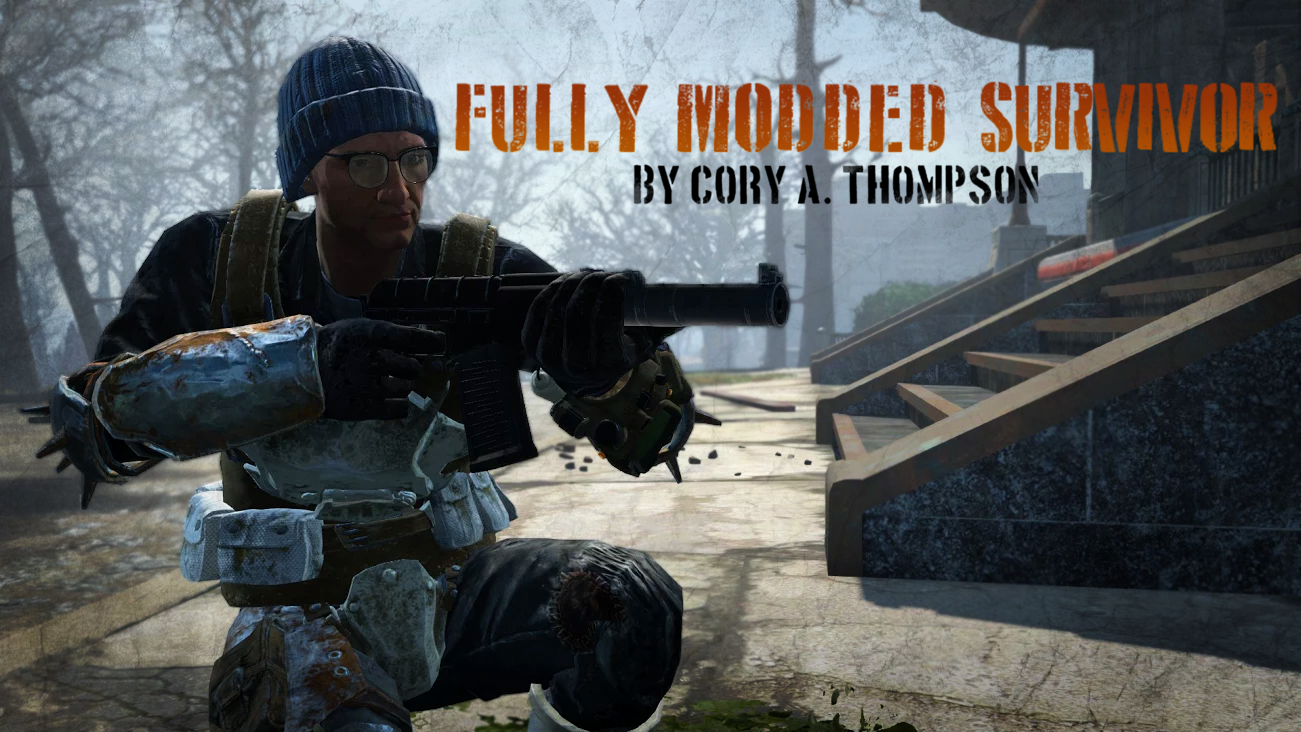 Fallout 4 Fully Modded Survivor - #GTUSA 1