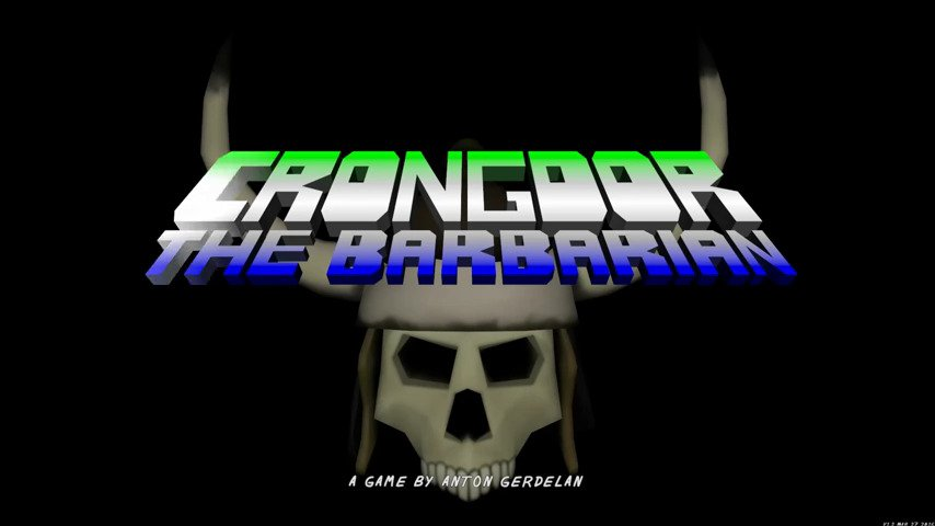 Crongdor the Barbarian - #GTUSA 1