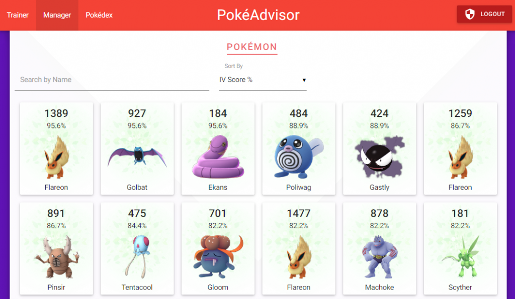 Pokeadvisor displays information about your 'mons, and lets you see hidden stats!