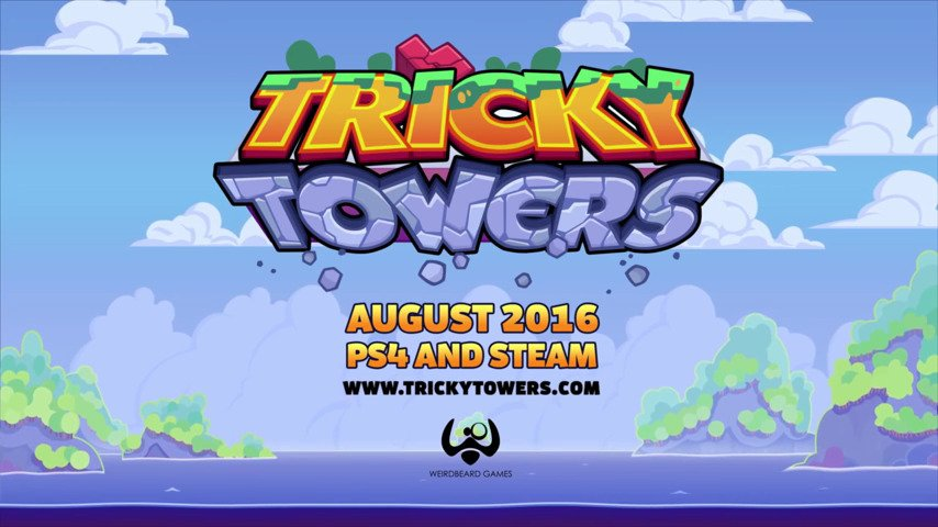 This Week on PSN - Tricky Towers - #GTUSA 1