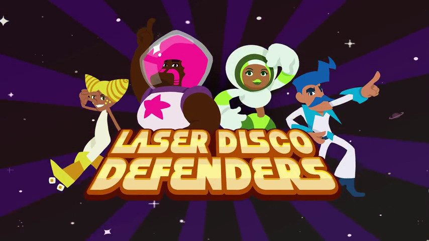 This Week on PSN - LASER DISCO DEFENDERS - #GTUSA 1