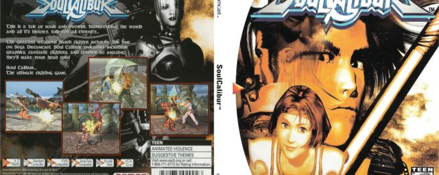 Soulcalibur Hit The Dreamcast 17 Years Ago today