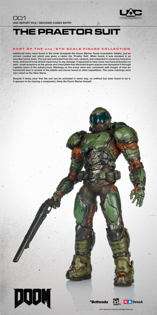 Doom Marine Action Figure - #GTUSA 2