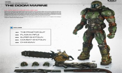 Doom Marine Action Figure - #GTUSA 1