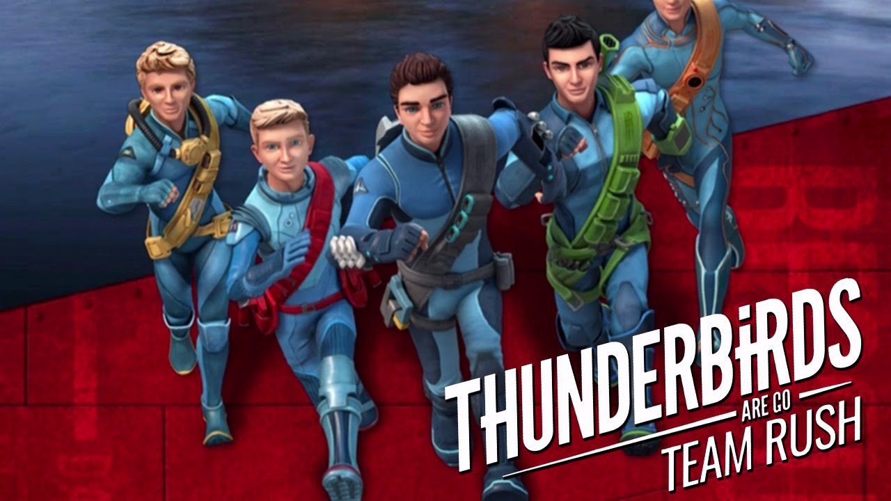 Thunderbirds Are Go: Team Rush ~ Free To Play Mobile Game - #GTUSA 1