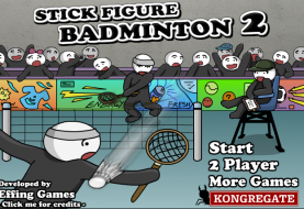 Stick Figure Badminton 2 ~ Free To Play Browser Game