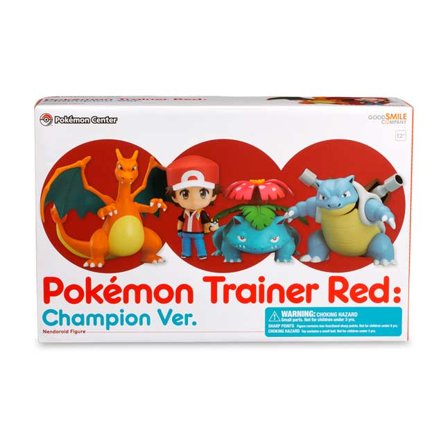 Nendoroid Pokémon Trainer Red - #GTUSA 2